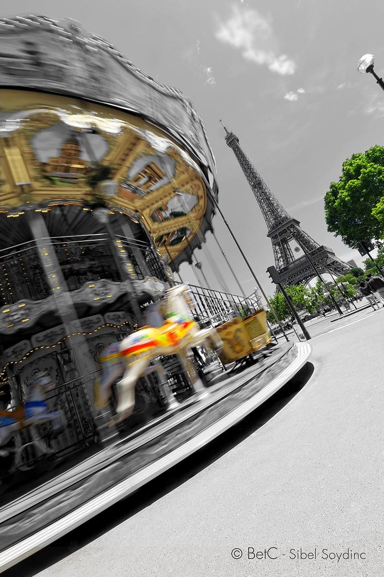photo carousselle Paris, betc