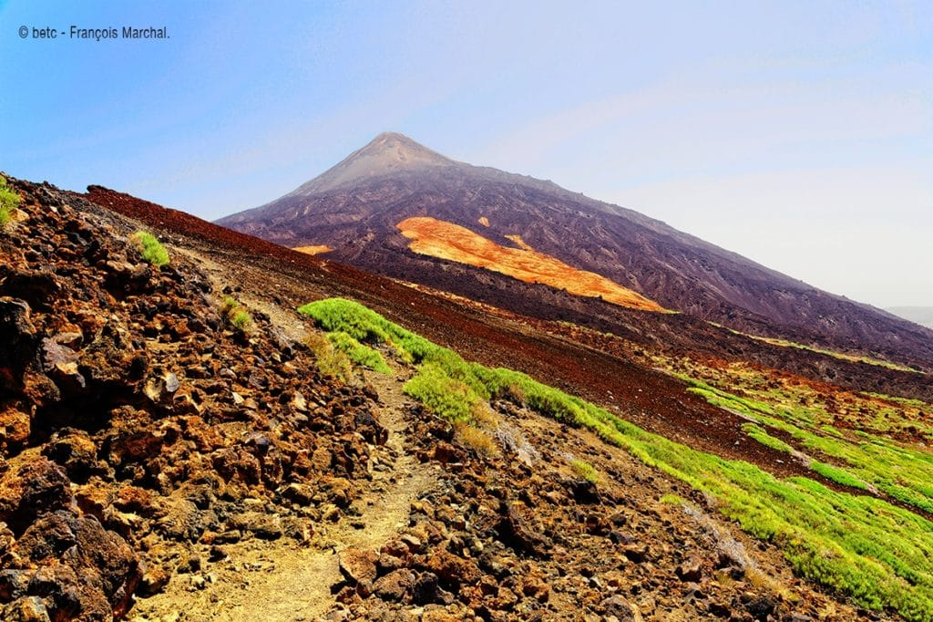 photo Tenerife, teide, trekking