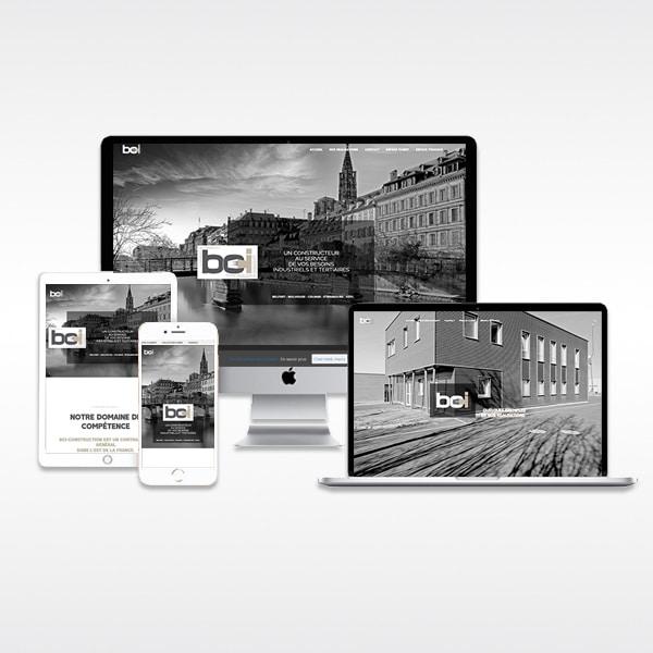 Site internet constructeur
